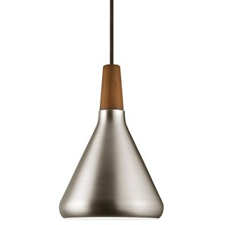 Float Brushed Steel Pendant (18)