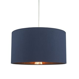 Timon Navy and Copper Easy Fit Pendant