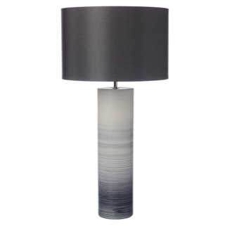 Nazare Black and White Ceramic Table Lamp (Base Only)