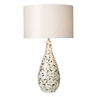 Olka Ceramic & Brown Table Lamp (Base Only)