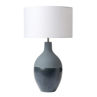 Jette Blue Ceramic Table Lamp (Base Only)