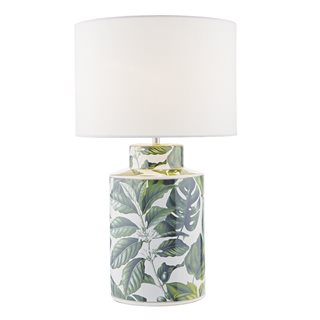 Filip Green Leaf Table Lamp (Base Only)