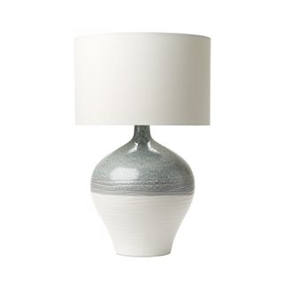 Forli  Blue, Grey and Ivory Table Lamp (Base Only)