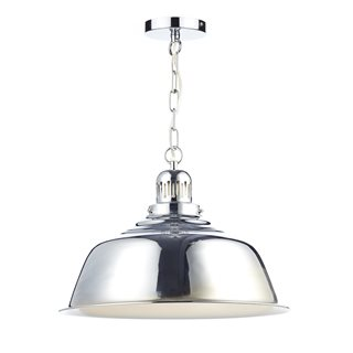 Nantucket Polished Chrome Ceiling Pendant