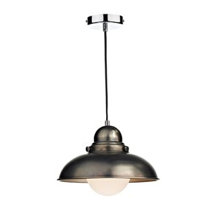 Dynamo Antique Chrome Pendant