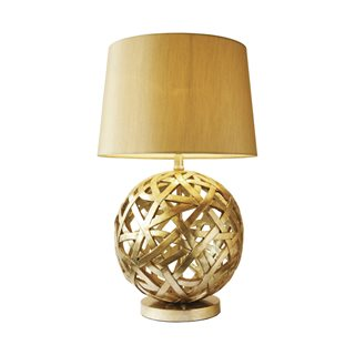 Balthazar Gold Table Lamp (with Shade)