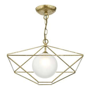 Orsini Antique Gold Light Pendant