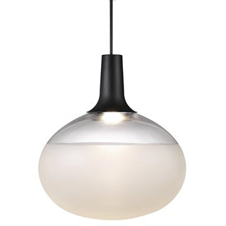 Dee Glass Black LED Pendant