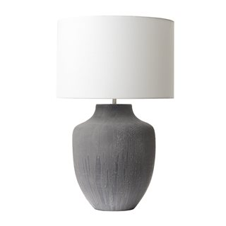 Udine Grey Table Lamp (Base Only)