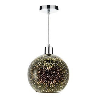 Kai Speckled 3D Glass Easy Fit Pendant