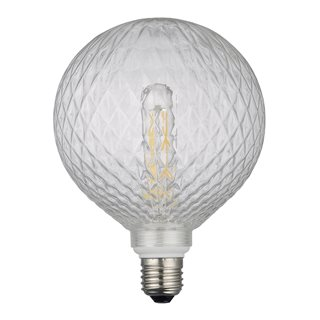 Clear Criss Cross LED Dimmable Pendant Kit