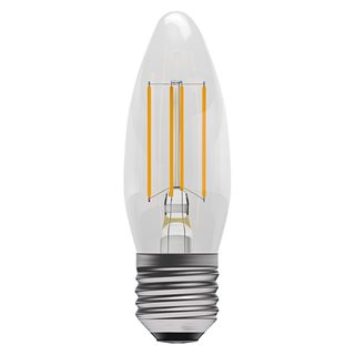 Bell 4W LED Cleat Filament Candle (Warm White/ES Fitting)