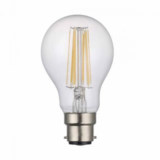 där Lighting LED Dimmable Filament GLS 8W (Warm White/BC Fitting)
