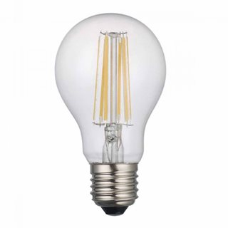 där Lighting LED Dimmable Filament GLS 8W (Warm White/SES Fitting)