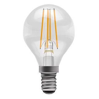 Bell 4W LED Filament Golf Ball Clear (Warm White/SES Fitting)